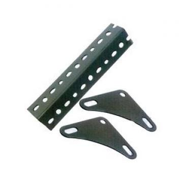 HDG sturdy angle bracket 50 x 50 x 100 x 5mm M12 hole