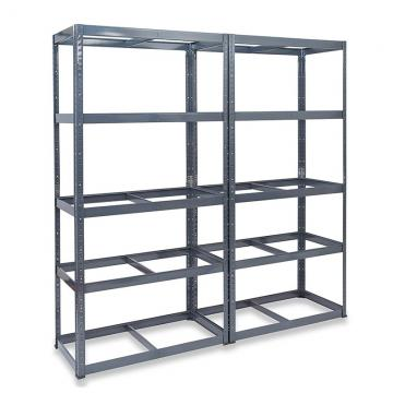Custom Heavy duty metal 5 tier adjustable steel shelving storage rack shelves