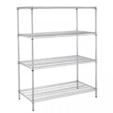 300kg Capacity Wire Shelving Racks For Garage Store