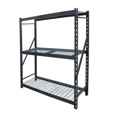 Industrial Metal Wire Mesh Shelf Rack Sheet Deck Decking Shelving Warehouse