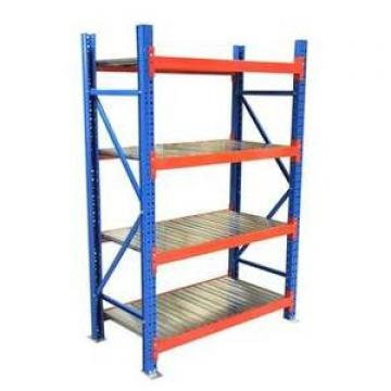 Blue Heavy Duty Steel Welded Storage Rack With 4 Shelves And 1100 LBS/Layer,Treadplate Welded Rack