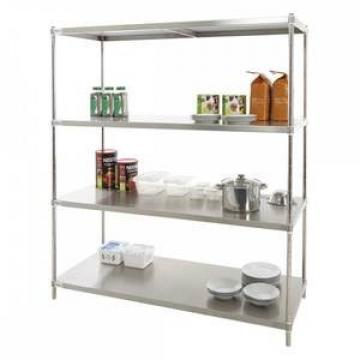Factory Customized light duty store home metal steel metal storage rack shelf